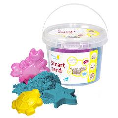GENIO KIDS кинетический песок с формами, 500 г, синие