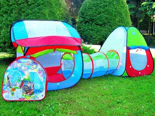 """Палатка для детей - туннель """"Красочный домик"""""""