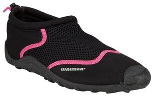 Ūdens apavi Waimea® Wave Rider,melni/rozā