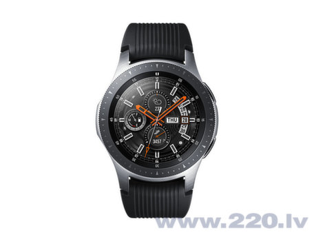 Samsung Galaxy Watch 46 mm, Sudrabains