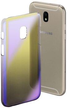 Защитный чехол Hama Mirror для Samsung Galaxy J5, желтый фиолетовый