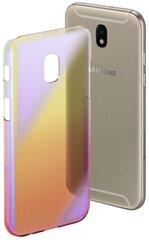Aizsargmaciņš Hama Mirror priekš Samsung Galaxy J7, dzeltena rozā