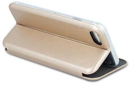 Atverams telefona maciņš Beeyo Diva, paredzēts Apple iPhone X, zelta