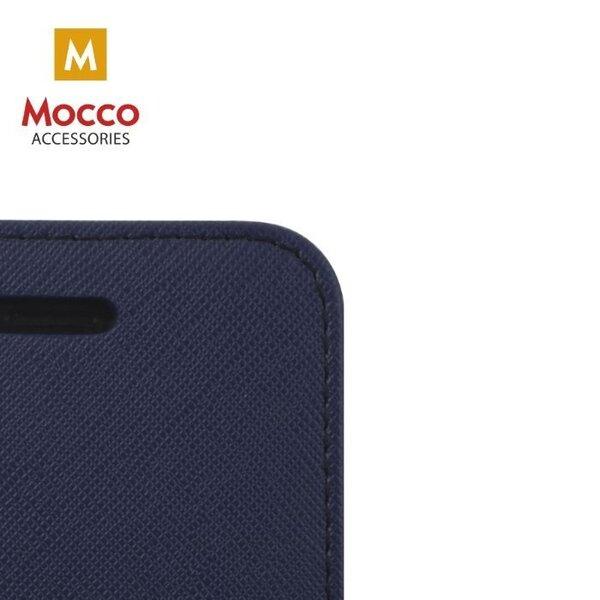 Aizsargmaciņš - grāmatiņa Mocco Fancy, piemērots Sony Xperia XA1 Plus, zilā/zaļā krāsā