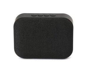 Omega OG58BB Bluetooth 4.1 Wireless Speaker with FM Radio / Handsfree / MicroSD / USB / 3W / Black cena un informācija | Skaļruņi | 220.lv