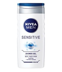 Гель для душа- шампунь Nivea Men Sensitive 500 мл