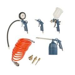 Пневматический комплект инструментов Dexter 10885112, 8 шт.