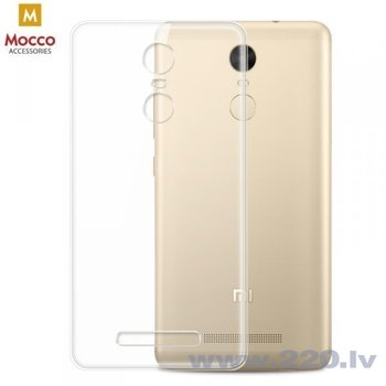 Mocco Ultra Back Case 0.3 mm Silicone Case for Xiaomi Redmi S2 Transparent