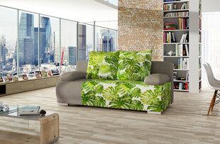 Диван Roma, зеленый/серый цена и информация | Диваны и кресла | 220.lv