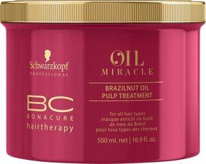 Barojoša matu maska Schwarzkopf BC Bonacure Oil Miracle Brazilnut Oil 500 ml