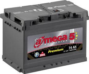 Akumulators A-MEGA Premium 74Ah 760A