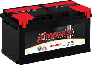 Akumulators A-MEGA Standart 100Ah 850A