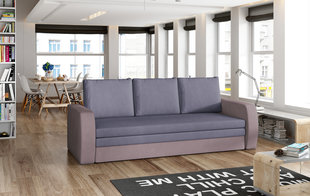 Dīvāns Laura, violets/rozā