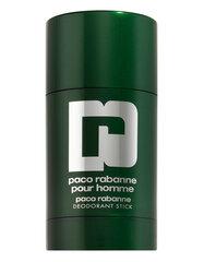 Zīmuļveida dezodorants vīriešiem Paco Rabanne Pour Homme 75 ml cena un informācija | Parfimēta vīriešu kosmētika | 220.lv