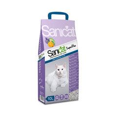 Kaķu pakaiši Sanicat SuperPlus, 10 l cena un informācija | Smiltis un pakaiši | 220.lv