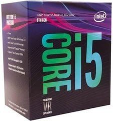 Intel Core i5-8600, 3.1GHz, 9MB, BOX (BX80684I58600)