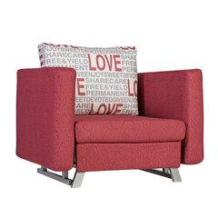 Izvelkams krēsls Lucky, sarkans