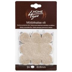 Защитные накладки для мебели, коричневые, 9 шт.