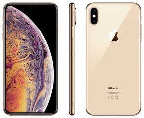 Apple iPhone Xs Max, 512 GB, zelta