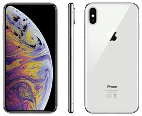 Apple iPhone Xs Max, 512 GB, Серебристый