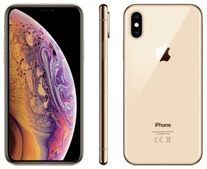 Apple iPhone Xs, 256 GB, zelta