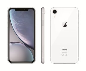 Apple iPhone XR, 256 GB, Balts