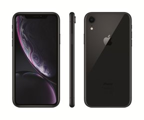 Apple iPhone XR, 64 GB, Melns