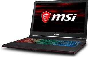 MSI GP63 Leopard (8RE-060XPL) 32 GB RAM/ 512 GB M.2 PCIe/ 512 GB SSD/ Windows 10 Pro