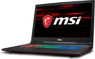 MSI GP73 Leopard (8RE-057XPL) 8 GB RAM/ 128 GB M.2 PCIe/ 256 GB SSD/