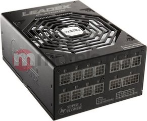 Super Flower Leadex 1200W - 80Plus Platinum - modulinis SF-1200F14MP black