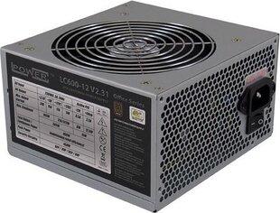LC-Power 400W (LC500-12 V2.31) cena un informācija | Barošanas bloki (PSU) | 220.lv
