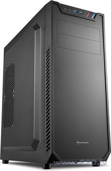Sharkoon Sharkoon VS7 melns (4044951021758) cena un informācija | Datora korpusi | 220.lv