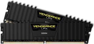 Corsair Vengeance LPX DDR4, 2x8GB, 2400MHz, CL16 (CMK16GX4M2Z2400C16) cena un informācija | Operatīvā atmiņa (RAM) | 220.lv