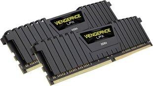 Corsair Vengeance LPX DDR4, 8GB(2x4GB), 2666MHz, CL16, Black (CMK8GX4M2A2666C16) cena un informācija | Operatīvā atmiņa (RAM) | 220.lv