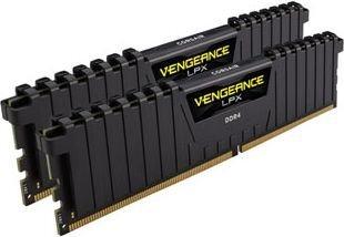Corsair Vengeance LPX, DDR4, 32GB(2x16GB) 2400MHz, CL14, juodas (CMK32GX4M2A2400C14) cena un informācija | Operatīvā atmiņa (RAM) | 220.lv