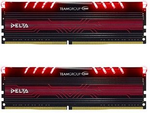 Team Group Delta LED, DDR4, 2x16GB, 3000MHz, CL16 (TDTRD432G3000HC16CDC01)