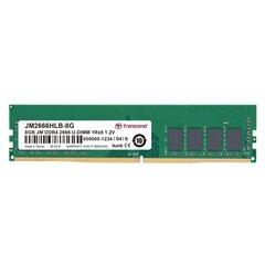 Transcend JM 8GB DDR4 2666 U-DIMM (JM2666HLB-8G) cena un informācija | Operatīvā atmiņa (RAM) | 220.lv