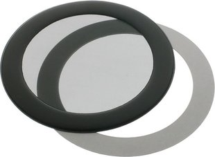 DEMCiflex Filter Anti-Dust Circular 80mm - Black ( 80mm Round black mesh )