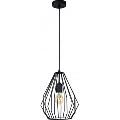 TK Lighting griestu lampa Brylant Black 2257
