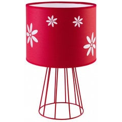 TK Lighting galda lampa Flora Red