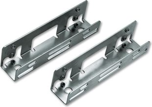 "LINDY Metal mounting brackets for 2.5"" drive (40588)"