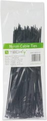 Techly Nylon Clamps 200 x 2.5mm 100 pcs, Black (306370) cena un informācija | Techly Nylon Clamps 200 x 2.5mm 100 pcs, Black (306370) | 220.lv