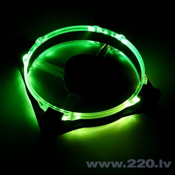Raijintek Fan Macula 12 Rainbow RGB-LED, 120mm, 2 pcs (0R400058) lētāk