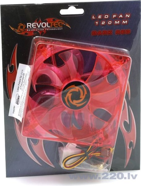 Revoltec Dark Red LED (RL027)
