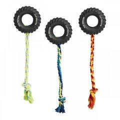 Ethical резиновая Шина с веревкой, 10 см