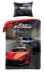 Bērnu gultas veļas komplekts Fast&Furious, 2 daļas