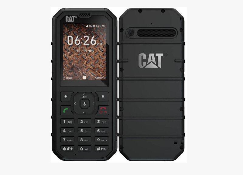 CAT B35, Dual SIM 4GB, Melns