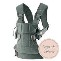 Babybjörn ķengursoma One Organic, Greyish Green 098068E1 cena un informācija | Staigulīši | 220.lv