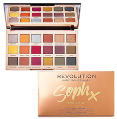 Палетка теней для век Makeup Revolution London Sophx Extra Spice 4.14 г