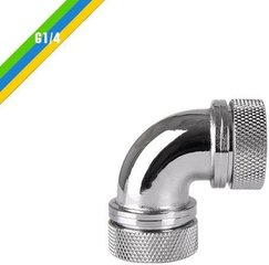 "Thermaltake angle fitting G1/4"" Chrome (CL-W099-CA00SL-A)"